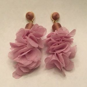 Jewelry - Lavender Fabric Earrings